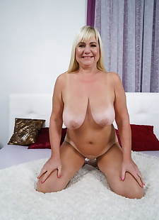 sex images Blonde granny with huge tits Pam Pink, blonde , granny