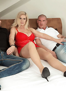 sex images Big titted mom marina rene getting, Marina Rene , big tits  hardcore