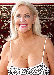 sex images Mature mom Judy Mayflower lifts, big tits , blonde