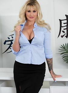 sex images Business woman Ryan Conner teasing in, big tits , milf