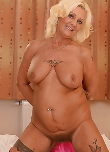 sex images Tattooed granny Melisa has her hairy, hairy , granny